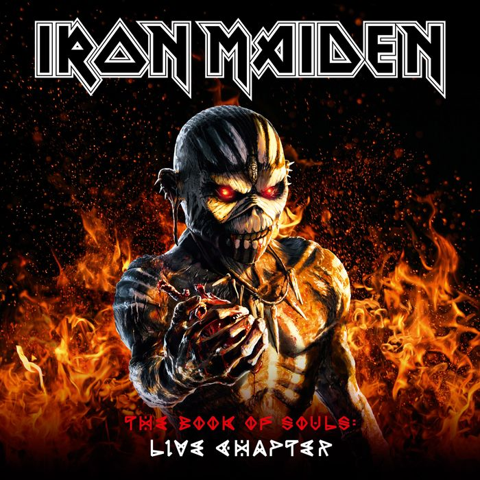 IRON MAIDEN - The Book Of Souls/Live Chapter