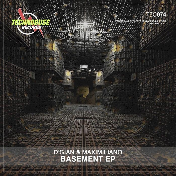 D'GIAN & MAXIMILIANO - Basement EP