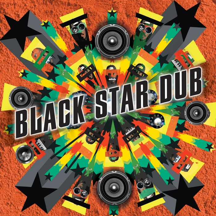 FRENCHIE & THE MAXIMUM SOUND ALL STARS - Black Star Dub