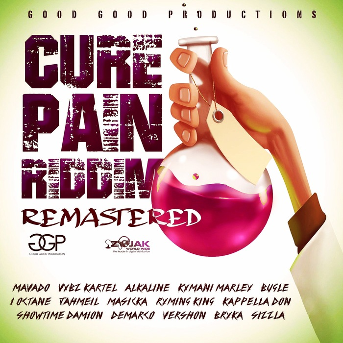 VARIOUS - Cure Pain Riddim (Remastered)