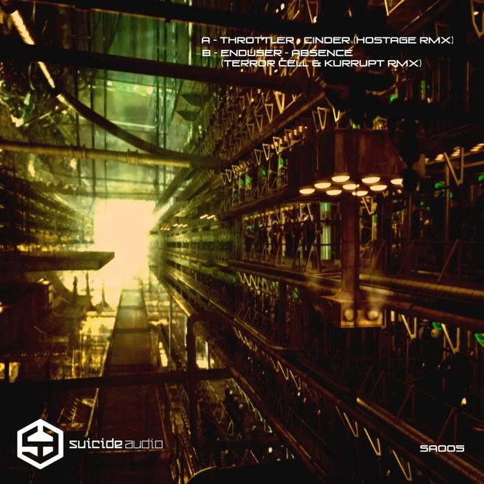 THROTTLER/ENDUSER - Suicide Audio The Remixes