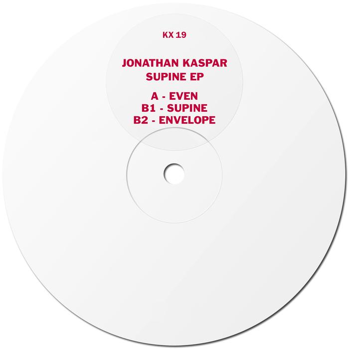 JONATHAN KASPAR - Supine EP