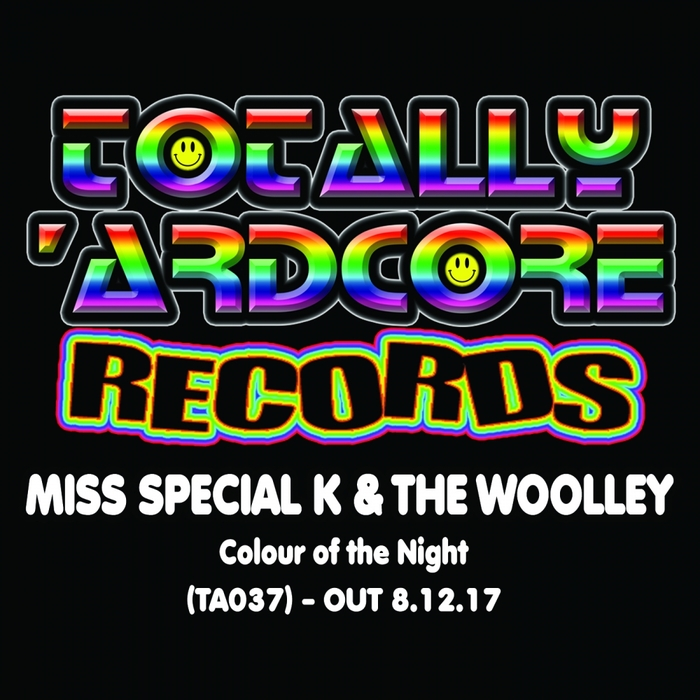 MISS SPECIAL K & THE WOOLLEY - Colour Of The Night