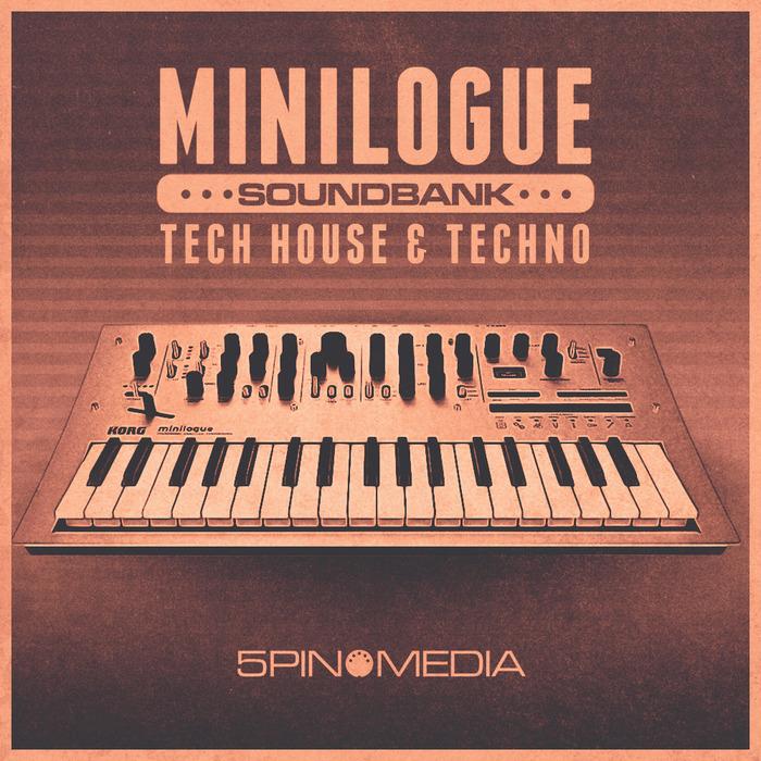 5PIN MEDIA - Tech House & Techno Minilogue Soundbank (Sample Pack WAV)