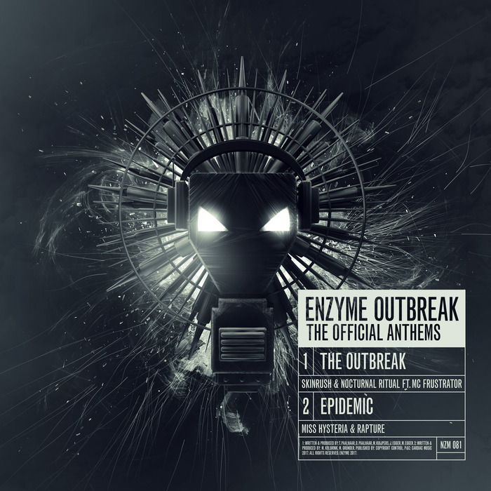 SKINRUSH & NOCTURNAL RITUAL/MISS HYSTERIA & RAPTURE (NL) - Enzyme Outbreak - The Official Anthems