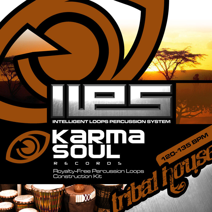 KARMA SOUL RECORDS - ILPS Intelligent Loops Percussion Tribal House (Sample Pack WAV)