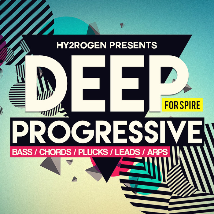 HY2ROGEN - Deep Progressive For Spire (Sample Pack Spire Presets)