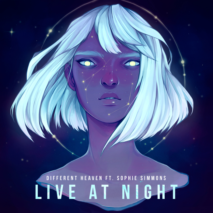 DIFFERENT HEAVEN feat SOPHIE SIMMONS - Live At Night
