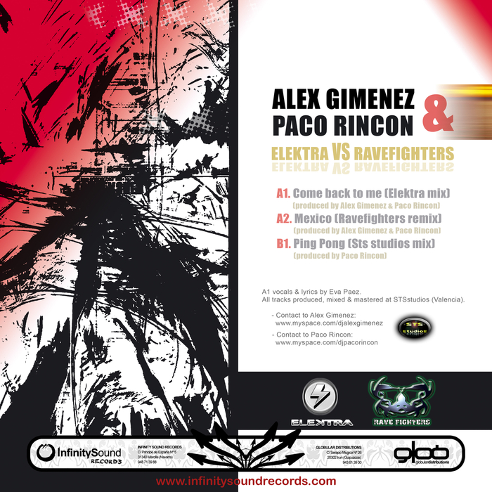 Elektra vs Ravefighters by Alex Gimenez/Paco Rincon on MP3