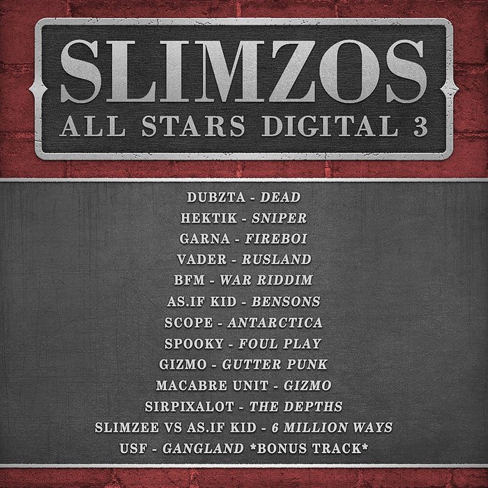 VARIOUS - Slimzos All Stars Digital 003