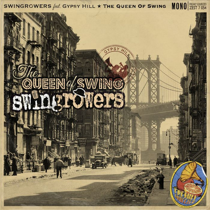 SWINGROWERS feat GYPSY HILL - The Queen Of Swing