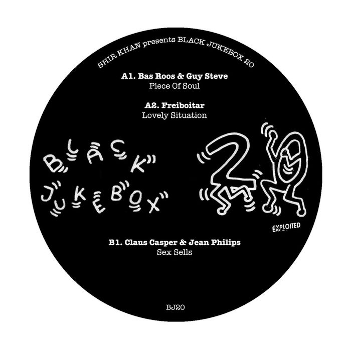 BAS ROOS/GUY STEVE/FREIBOITAR/CLAUS CASPER/JEAN PHILIPS - Shir Khan Presents Black Jukebox 20