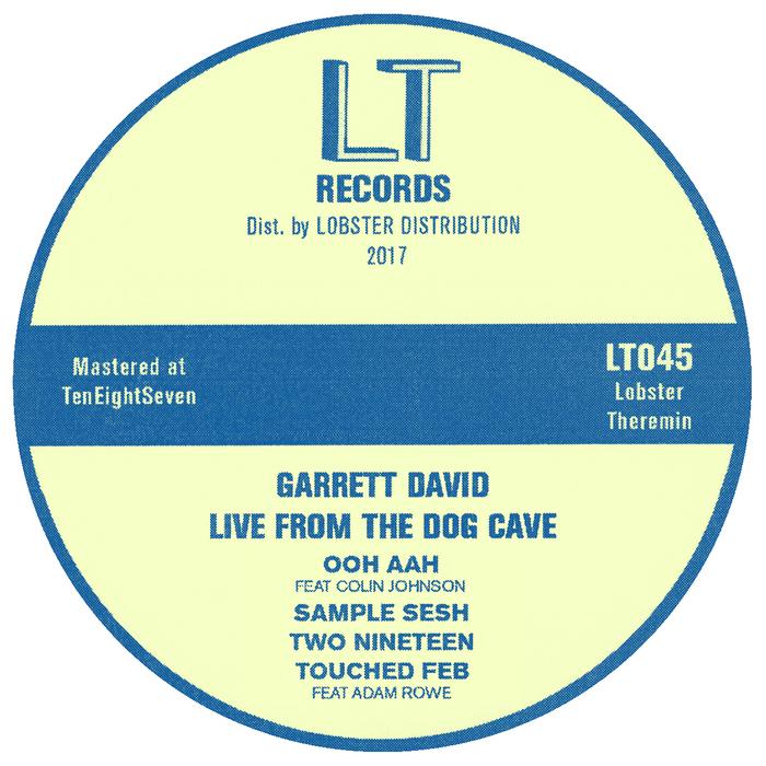 GARRETT DAVID - Live From The Dog Cave