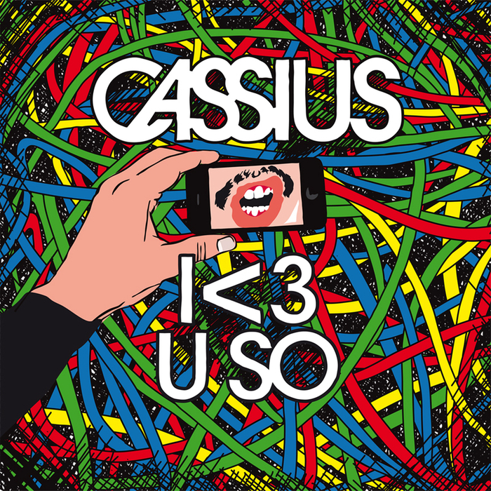 CASSIUS - The Rawkers (I <3 U SO Edition)