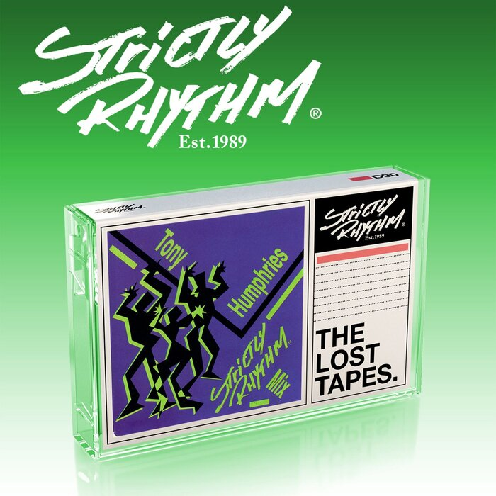 VARIOUS/TONY HUMPHRIES - The Lost Tapes: Tony Humphries Strictly Rhythm Mix