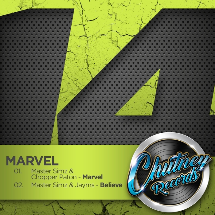 MASTER SIMZ - Marvel EP