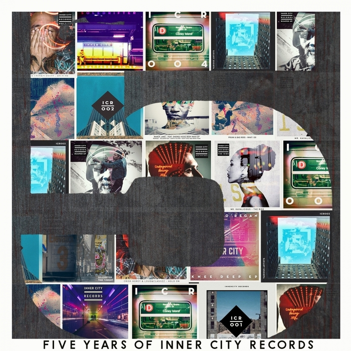 VARIOUS - 5 Years Of Inner City Records