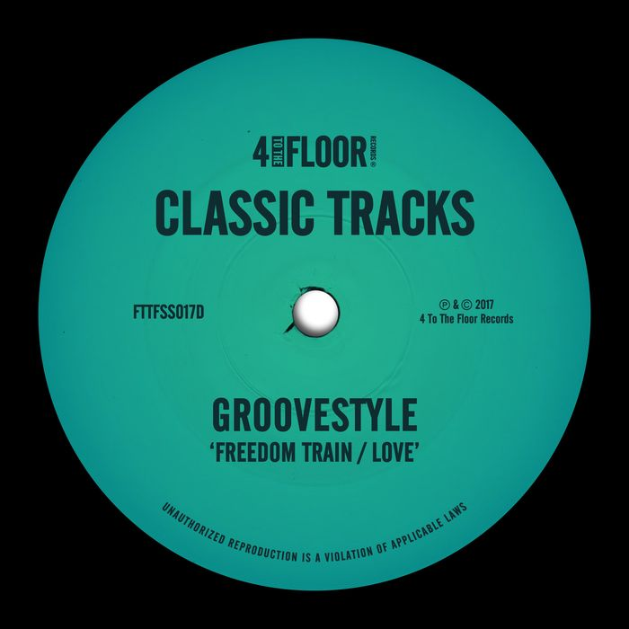 GROOVESTYLE - Freedom Train/Love