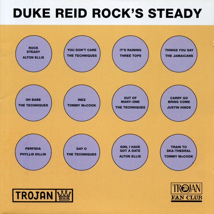 VARIOUS/DUKE REID - Duke Reid Rocks Steady