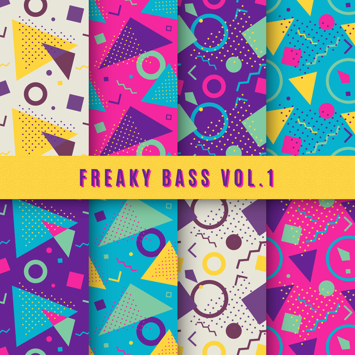 AIRBUZZ RECORDINGS - Freaky Bass Vol 1 (Sample Pack WAV)