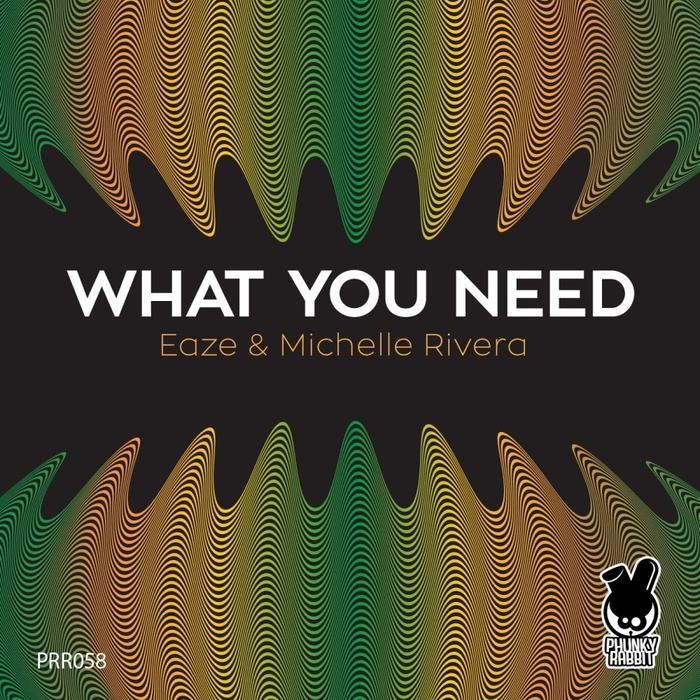 EAZE/MICHELLE RIVERA - What You Need (Remixes)