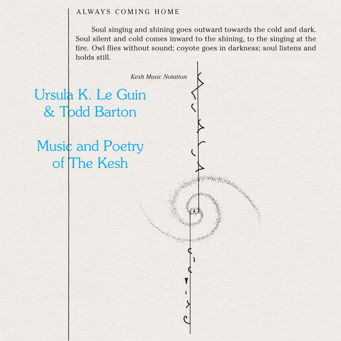 URSULA K LE GUIN & TODD BARTON - Music And Poetry Of The Kesh