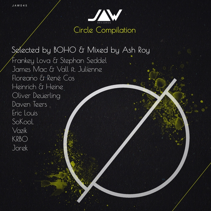 ASH ROY/VARIOUS - Circle Compilation (unmixed tracks)