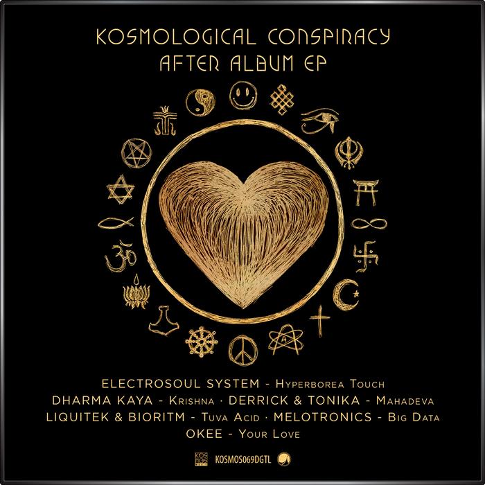 ELECTROSOUL SYSTEM/DHARMA KAYA/DERRICK/TONIKA/LIQUITEK/BIORITM/MELOTRONICS/OKEE - V/A Kosmological Conspiracy After Album EP