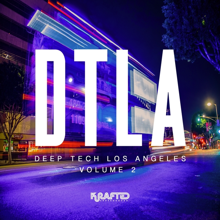 REDUX SAINTS/SHANTO/VARIOUS - Deep Tech Los Angeles Vol 2 (unmixed Tracks)