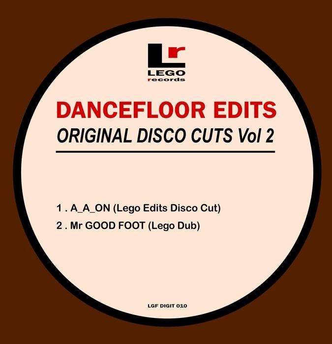 LEGO EDIT - Dancefloor Edits Original Disco Cuts Vol 2
