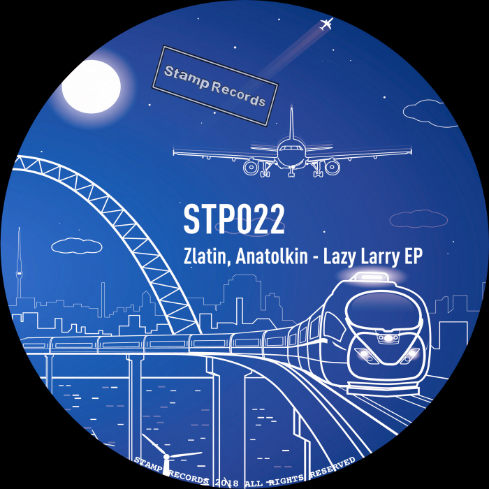 ZLATIN/ANATOLKIN - Lazy Larry EP