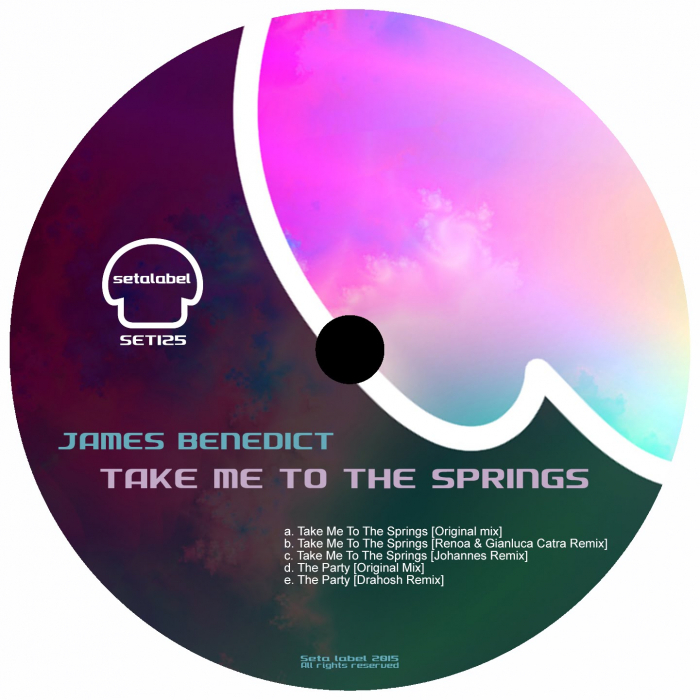 JAMES BENEDICT - Take Me To The Springs