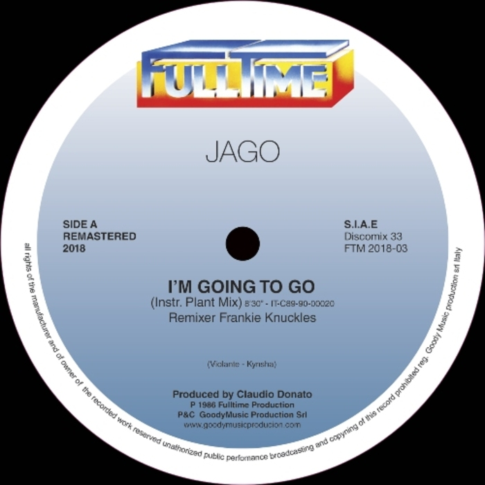 JAGO - I'm Going To Go (Remastered 2018)