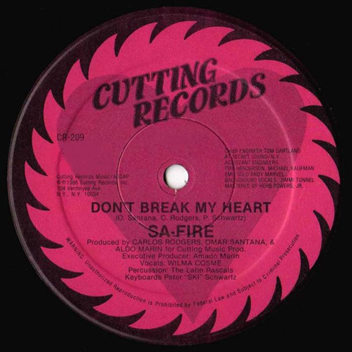 SA-FIRE - Don't Break My Heart