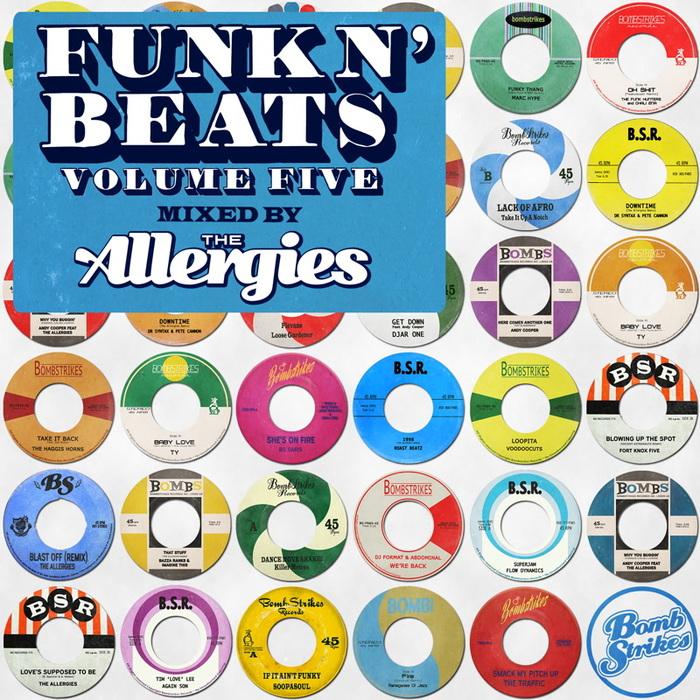 VARIOUS/THE ALLERGIES - Funk N' Beats Vol 5 (Mixed By The Allergies)