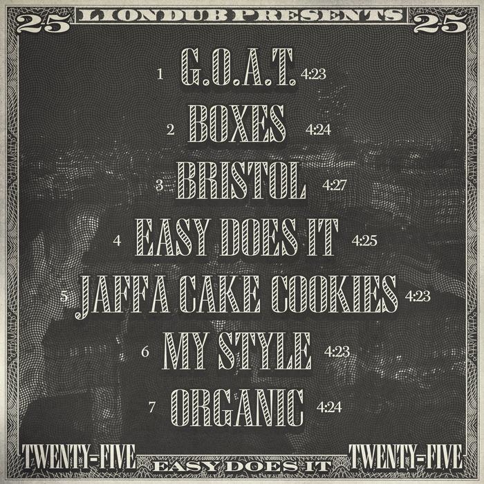 DUTTA - Liondub Street Series Vol 25 - Easy Does It