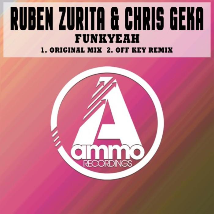 RUBEN ZURITA & CHRIS GEKA - Funkyeah