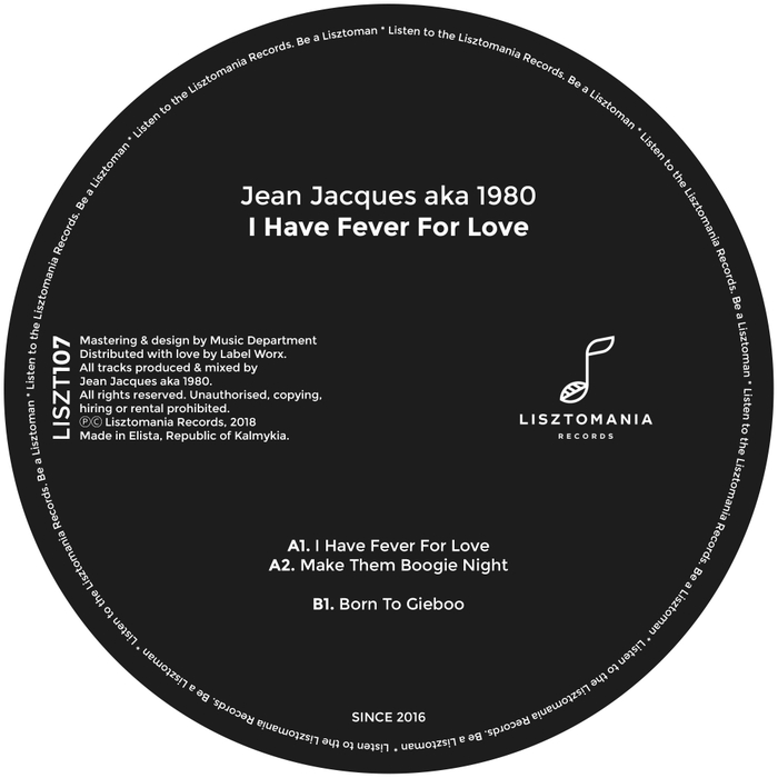 JEAN JACQUES aka 1980 - I Have Fever For Love