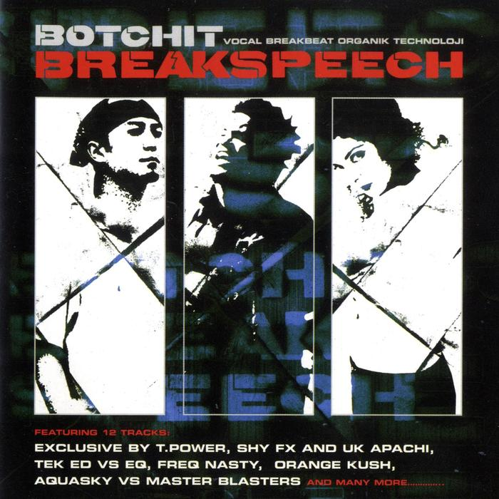 VARIOUS - Botchit Breakspeech (Organik Technoloji 2)