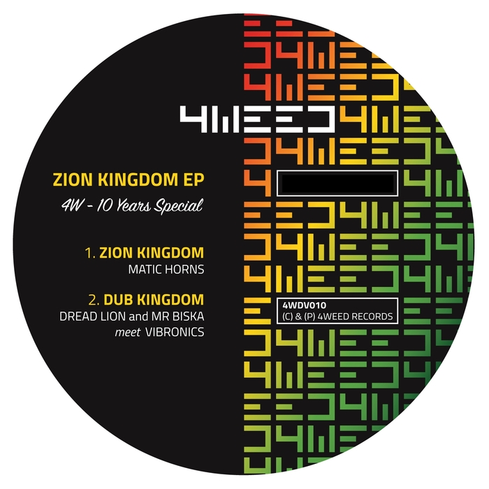 MATIC HORNS/DREAD LION/MR BISKA/VIBRONICS - Zion Kingdom