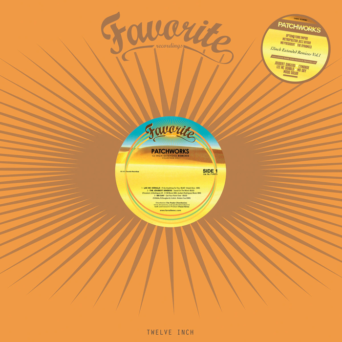 LEE MC DONALD/THE JOUBERT SINGERS/MR DAY/PATCHWORKS GINGER X PRESS/MODO SOLAR - 12inch Extended Remixes Vol 1