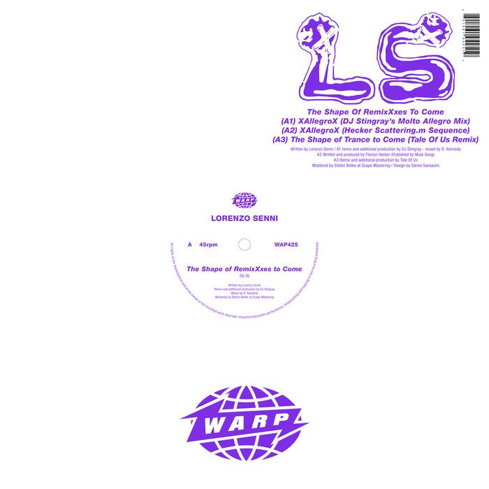 LORENZO SENNI - The Shape Of RemixXxes To Come