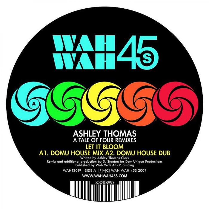 ASHLEY THOMAS - A Tale Of Four Remixes (Remixes)