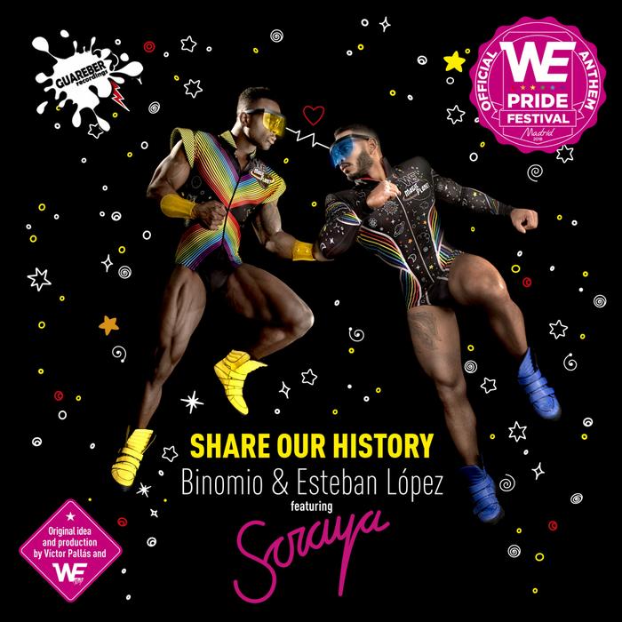 BINOMIO & ESTEBAN LOPEZ feat SORAYA - Share Our History