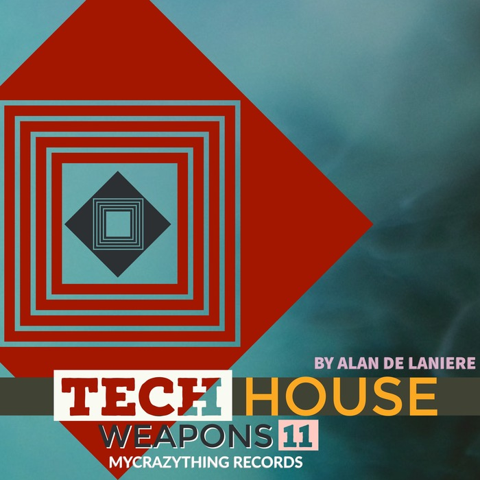 MYCRAZYTHING RECORDS - Tech House Weapons 11 (Sample Pack WAV)