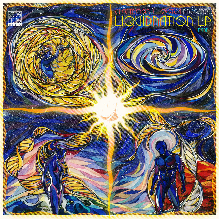 VARIOUS - Electrosoul System Presents LiquiDNAtion LP Part 1 (unmixed Tracks)