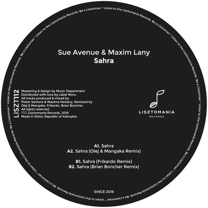 SUE AVENUE & MAXIM LANY - Sahra