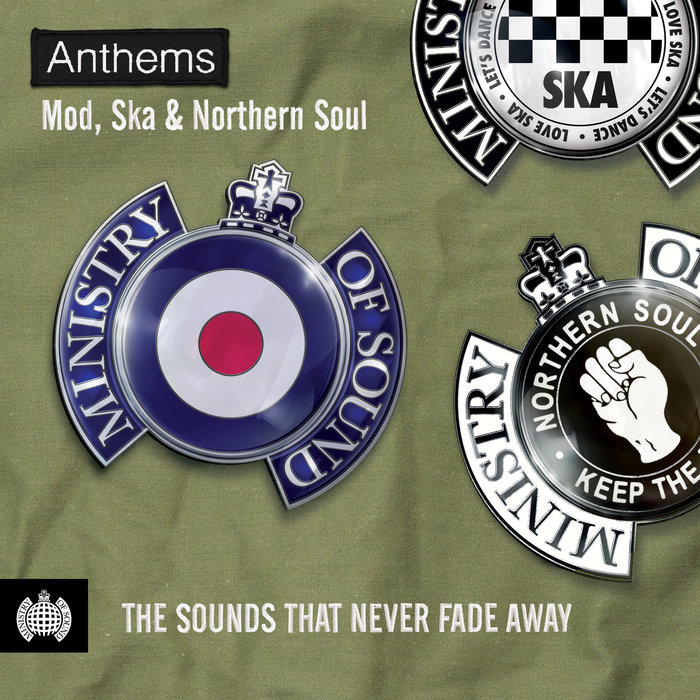 VARIOUS - Anthems: Mod, Ska & Northern Soul: Ministry Of Sound