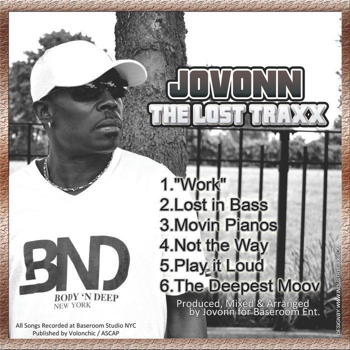 JOVONN - The Lost Traxx