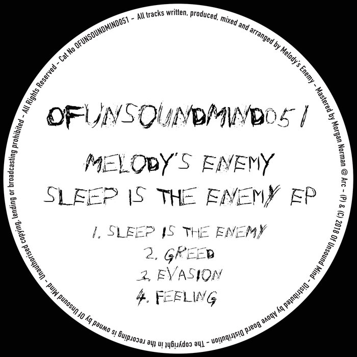 MELODY'S ENEMY - Sleep Is The Enemy EP